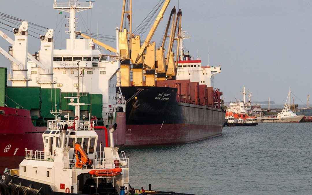 Armed Guards supplied at Cotonou Port