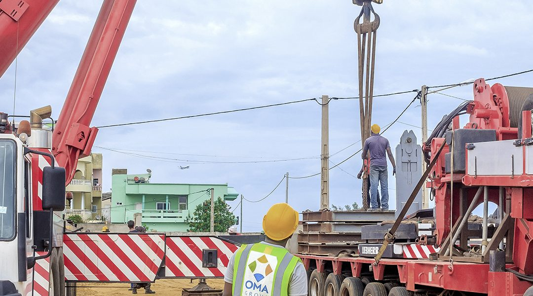 Heavy lift movement in Benin